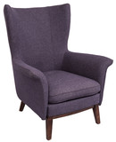 blue wing back armchair - 149757280