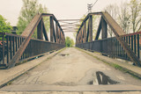 View of the old historical steel bridge. - 149766018