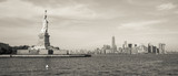View of the Statue of Liberty in New York, USA.  - 149832012