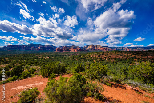 Foto op Canvas Arizona Beautiful Sedona Landscape