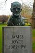 James Joyce's statue in St, Stephen's Green, Dublin, Ireland - 149933858