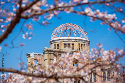 Hiroshima Japan. UNESCO World Heritage Site Poster