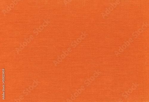 オレンジ色の布テクスチャ 背景