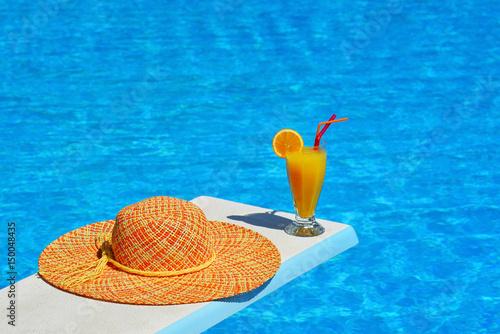 Summer vacation scene Plakat