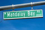 Mandalay Bay Road sign