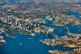 Aerial panoramic view of Sydney skyline, Australia