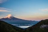 御坂峠天下茶屋からの富士山