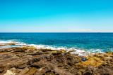 Rocky coast with azure water, Malta, EU