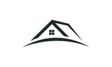 single roof home vector - 150102815