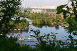 Киев, вид на Днипро