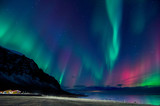 Colors of the northern lights
