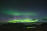 Aurora Borealis seen over the Snæfellsnes Peninsula, Iceland