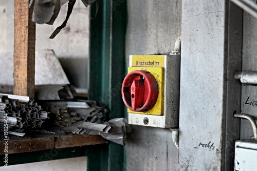 industrie kranschalter I Poster