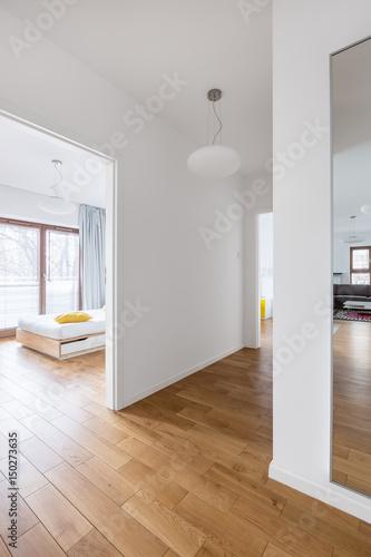 Foto op Plexiglas Trappen Open interior of modern apartment