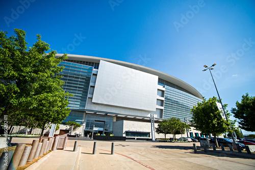 April 2017 Arlington Texas - AT&T NFLcowboys  football stadium on a sunny day Poster