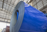 Steel Coils stock in warehouse for tile manufacturing - 150403805