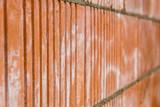 Hintergrund Mauer aus Ziegelsteinen