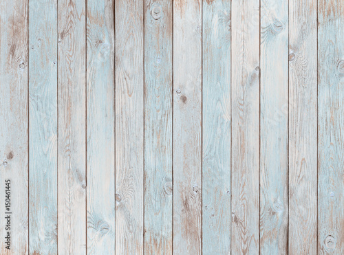 Naklejka na szybę pale blue wood planks texture or background