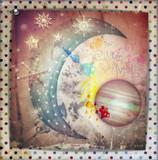 Fairytales starry moon