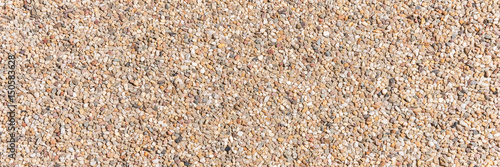 The pattern small pebbles stone as background - 150583628