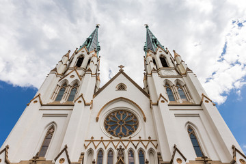 Cathedral of St John the Baptist in Savannah, GA © james_pintar