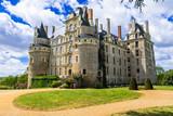 mysterious castles of France - Chateau de Brissac ,Loire valley - 150661418