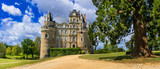 One of the most beautiful and mysterious castles of France - Chateau de Brissac ,Loire valley - 150661449