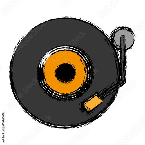 icono-de-giradiscos-dj-sobre-ilustracion-de-vector-de-fondo-blanco