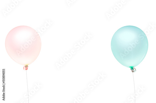 balloon color pastel for birthday and party