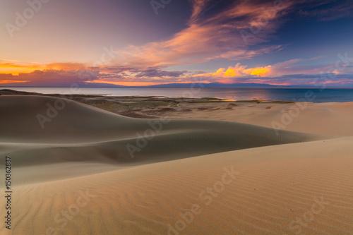Poster Beautiful views of the desert landscape. Gobi Desert. Mongolia