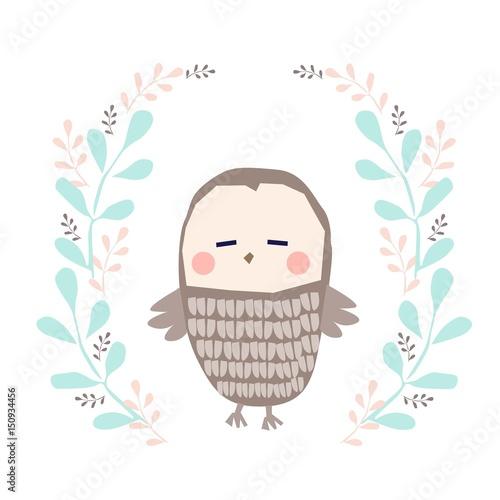 owl illustration - 150934456