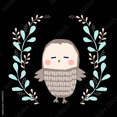owl illustration - 150934473