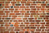 Mauer aus Ziegelstein