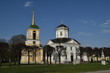 Church in the estate of Count Sheremetev Kuskovo, Moscow: 30 of April 2017