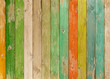 old colorful wood planks texture or background