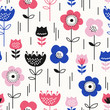 seamless pattern with flowers - 151426255