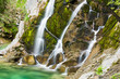 Emerald Water of the Torre Torrent Falls. Silk water. Tarcento, Friuli to discover - 151430026