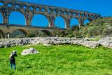 Le pont du Gard, France.