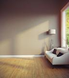 modern room interior - 151473074