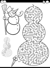 maze or labyrinth game