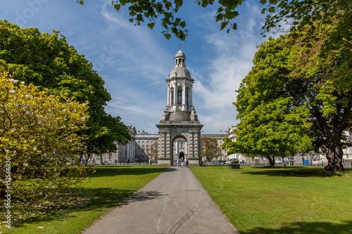 Trinity College, Dublin, Irland Poster