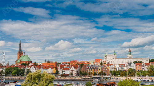 Stettin - Panorama; Polen