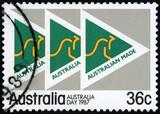 Australia Postage stamp - Made in Australia