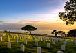 Fort Rosecrans National Veteran Cemetery in Point Loma, California