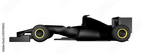 Foto op Plexiglas F1 3D rendering racing car