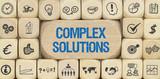 Complex Solutions / Würfel mit Symbole - 151784494