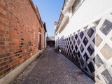 Old town alley in Yamaguchi Pref. Japan
