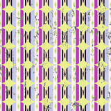 abstract seamless geometric pattern background, with stripes, circles, strokes and splashes