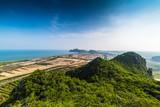 Mountains along the coast Prachuap Khiri Khan, Thailand