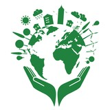 Earth and clean environment - in the hand - 151914439